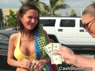 Amateur Cash  Outdoor Public