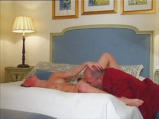 young girl older man bed fuck