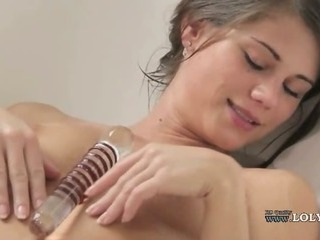 Cute Dildo Solo Teen Toy