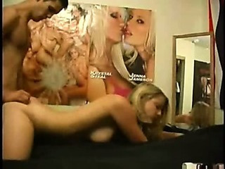 Amateur cute Blonde sister Homemade utter obscurity inconspicuous sex with Fellow-countryman