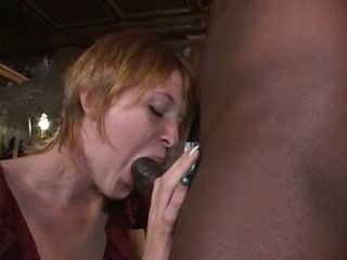 Short Haired Redhead with BBC