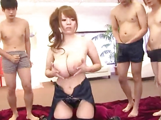 Asian Babe Big Tits Cute Gangbang Japanese Natural Pornstar