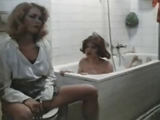 Bathroom European German Lesbian  Vintage