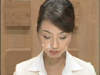 Asian Babe Bukkake Cumshot Facial Japanese