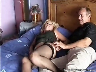 Amateur Homemade Mature Older Stockings Wife