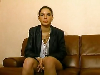 Amateur Casting European French Teen
