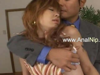 Sleeping japanese pulchritude anal copulated