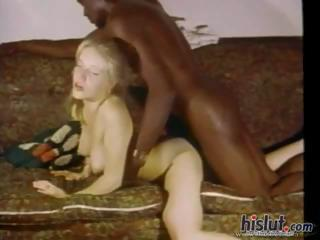 Blonde Doggystyle Hardcore Interracial Teen Vintage