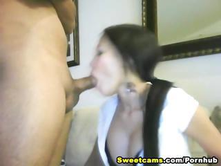Hot Asian Loves Huge Colourless Load of shit HD