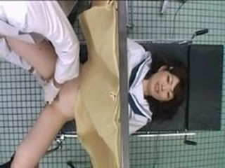 Asian Doctor HiddenCam Teen Uniform Voyeur