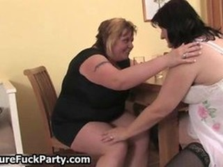 Brutal fat woman and her horny adult
