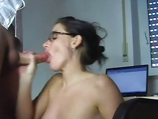 Fucking a hot secretary at her work place- ggrad