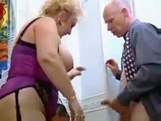 Big Tits European German Lingerie Mature