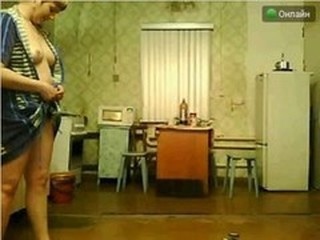 Chubby Girlfriend Russian Stripper Webcam