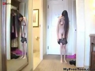 Amateur Homemade Skinny Stripper Teen