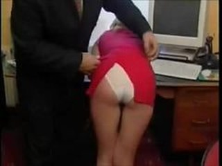 Lazy Secretary Beaten For Her Insolence