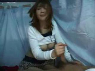 Amateur Asian Handjob Teen