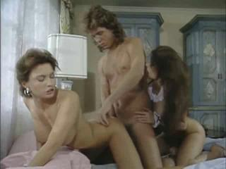 Amazing Hardcore  Pornstar Threesome Vintage