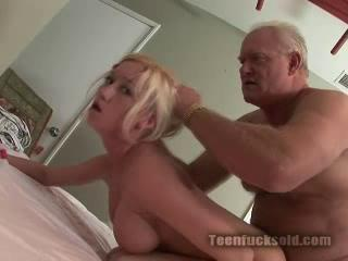 Enchanting Blonde With Awesome Body Feels His Dick Stuck Between Her Legs
