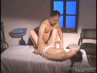Asian Daddy Japanese Old and Young Teen