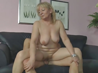 Chubby Mature Riding