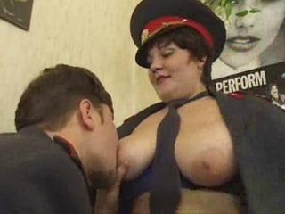 Big Tits  Natural Russian  Uniform