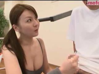 Asian Handjob Japanese Sport