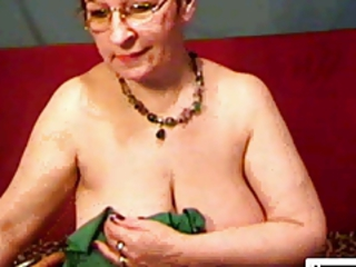 Glasses Granny Russian Webcam
