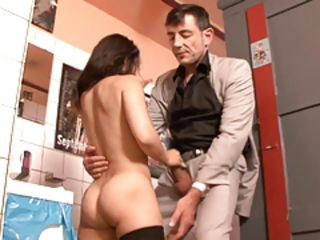 Very hot little girl is getting fucked concurring