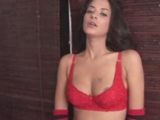 Cute Latina Lingerie Teen