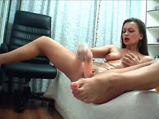 Hot Babe Hardcore Solo in Say no to Room HD