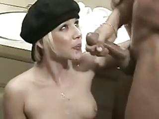 Cumshot Facial French Interracial Teen