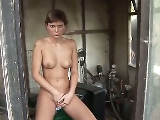 Masturbating Outdoor Russian Teen