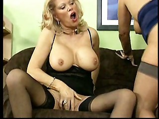 German Lesbian Mature Stockings