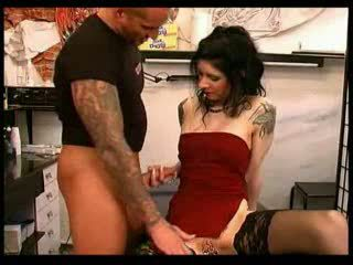 Handjob  Piercing Stockings Tattoo