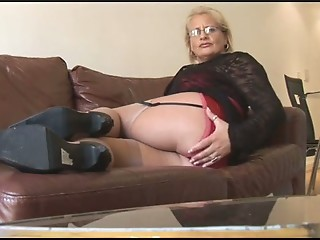 Amateur Ass Glasses Granny