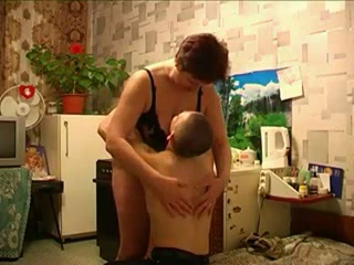 RUSSIAN MOTHER AND YOUNG GUY!