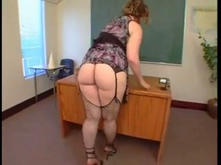 Ass Chubby Mature School Stockings