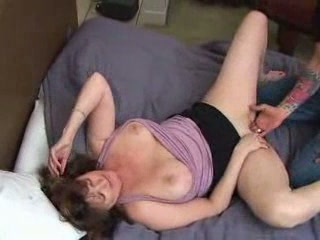 Blonde mature got pleasure fdcr