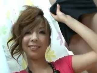 Asian  Handjob Teen