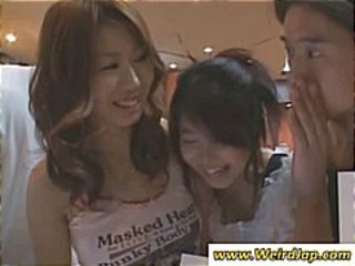 Asian Teen Threesome