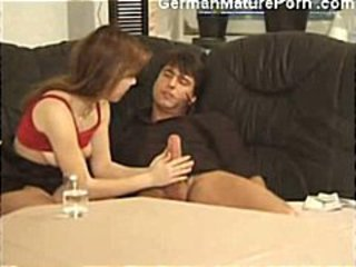 Drunk German Handjob Teen