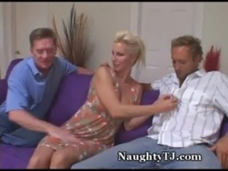 Naughty MILF Shares Pussy With Friend free