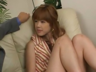 Quiescent japanese beauty anal penetrated