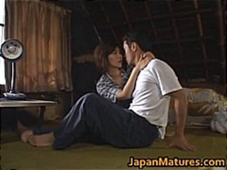 Chisato Shouda Lovely mature Asian chick part1