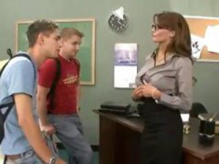 Glasses  Student Teacher Threesome