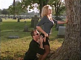 Hot Renee Larue Banged In graveyard