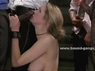 Maids catch master torturing slave forced to fuck in spanking and
