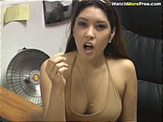 Asian Cute Secretary Teen
