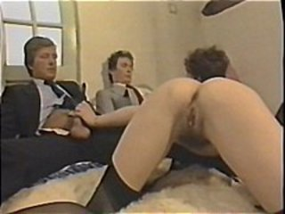 Ass Stockings Threesome Vintage